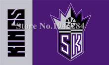 Sacramento Kings Wordmark Flag New 3x5ft 90x150cm Polyester NBA Flag Banner 1020,  free shipping