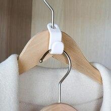 6 шт. пластиковые Многослойные вешалки Разъем крюк Бытовая Экономия пространства каскадные вешалка для одежды шкаф
