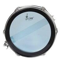 14 барабан Snare набор из нержавеющей стали корпус ПВХ барабан с цилиндрическая сумка ремень голени чехол для барабанных палочек демпфер геле