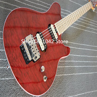WOlfgang electric guitar .EVH matt Cherry red electric guitar ,floyd rose bridge guitarra guitarra eletrica