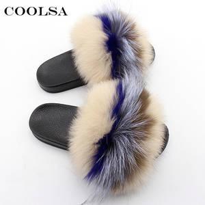 304a121b10c Coolsa Women Slippers Slides Female Flip Flops Shoes