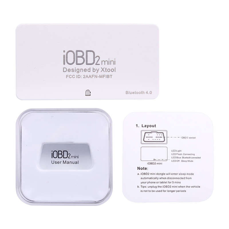 IOBD2 mini Code Reader Scanner Suitable for Android IOS with Hud Head Up Display OBD2 ELM327 IOBD2 mini Code Reader Scanner Suitable for Android/IOS with Hud Head-Up Display OBD2 ELM327 V1.5 Bluetooth Auto Diagnostic Tool