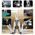 Survival składane szczypce wędkarstwo Camping Survival wyposażenie edc Multitool scyzoryk szczypce nożyczki wkrętaki