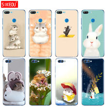 Silicone Cover phone Case for Huawei Honor 10 V10 3c 4C 5c 5x 4A 6A 6C pro 6X 7X 6 7 8 9 LITE Rabbit mouse Hamster(China)