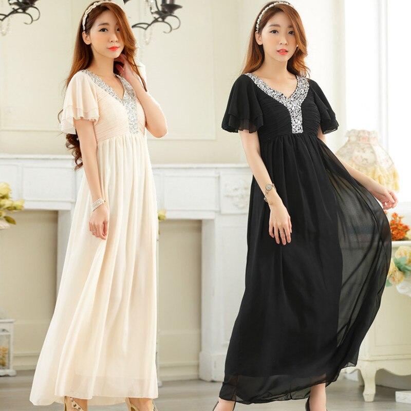 Size 4 long dresses dinner