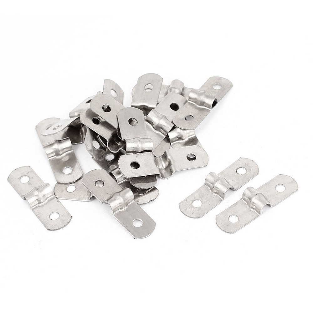 Steel Pipe Clips : Pcs hole metal rigid conduit pipe straps clips clamps