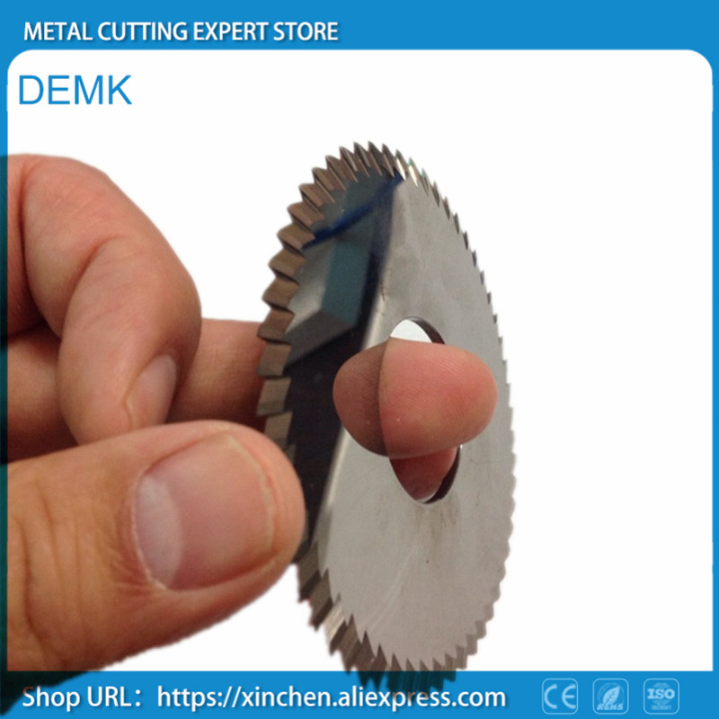 Solid carbide cutter 50mm, thickness 0.5-5mm, tungsten steel saw blade, cutting, cutting cutter, for milling machine CNC 1PCS 12 72 teeth 300mm carbide tipped saw blade with silencer holes for cutting melamine faced chipboard free shipping g teeth