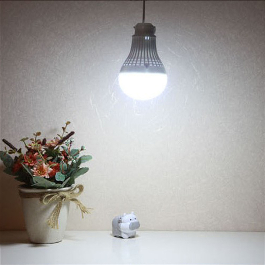 High Brightness LED Lamp 5w 7w 9w 12w E27 5v USB SMD5730 Led Bulbs Cold White Spotlight Ball Light Umbrella Bulb For Camping