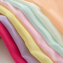 150cm*100cm Chiffon Fabric for Bridal Wedding Dress Mosquito net Lining Summer Skirt tulle curtains DIY Sewing Supplies