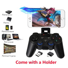 2.4G Wireless Gamepad PC For PS3 Android Phone TV Box Joystick Joypad Game Controller Remote For Xiaomi OTG Smart Phone