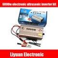 6800 Вт электронный ультразвуковой инвертор комплект 12 В инвертор высокой мощности батареи booster