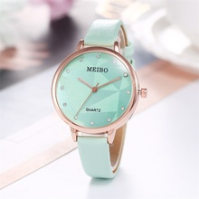 New Arrive Nordic Minimalist Style Fashion Ladies Watch Rose Gold Shell British Zegarek Damski Montre Femme Horloge