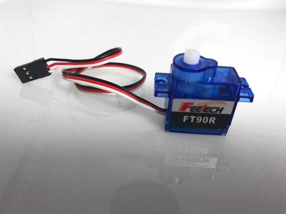 10 pièces FEETECH FT90R numérique Micro Rotation continue Servo 9g mini servomoteur PWM 360 degrés