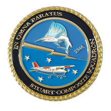 Manufacturer custom aircraft logo paint coins wholesale military