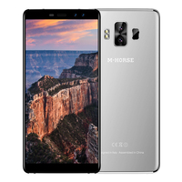 M-HORSE 1 Puro 4G Smartphoe 5.7 Polegada Phablet Android 7.0 MTK6737 Quad Core 1.3 GHz 3 GB RAM 32 GB ROM Dupla Câmeras Traseiras Impressão Digital
