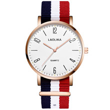 Casual Men Ultra Thin Canvas Strap Watch Luxury Nylon Cloth Quartz Watches Sports Wristwatch Couple Clock Relojes
