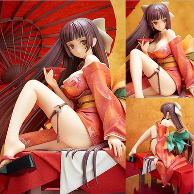 все цены на Anime Native Tony Tomoe Nakahara Sexy girl 1/7 PVC Action Figure Collectible Model doll toy 19cm онлайн