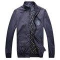 El multimillonario de Alta Costura Italiana chaqueta de los hombres 2016 nuevo estilo de otoño e invierno de la moda guapo confort color sólido envío gratis