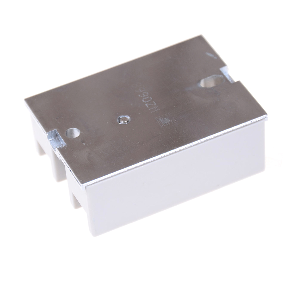 Actually Solid State Relay Ssr 40aa 40a Ac Control 80 250vac To 24 Leakage Off Current 4ma Item Size 604523mm Package Included 1 Pcs With Protective Cover