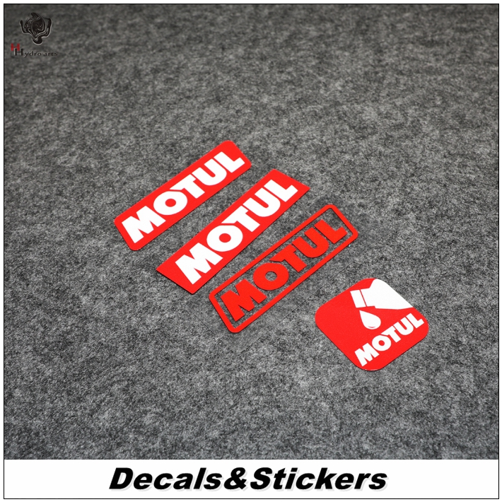 NO,L024 MOTUL 3M Reflective Modified Stickers car Sticker MOTO GP Waterproof Decals Racing Motorcycle-in Car Stickers from Automobiles & Motorcycles