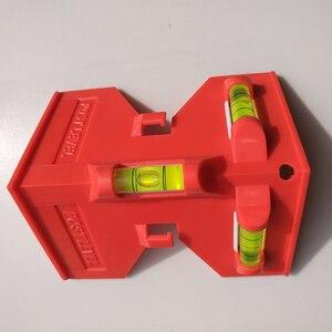 Image 3 - Cilindro dobrável, nível magnético de alta precisão, tubo de alta precisão, mini nível de bolha, para tubo, instalação de pilares de madeira