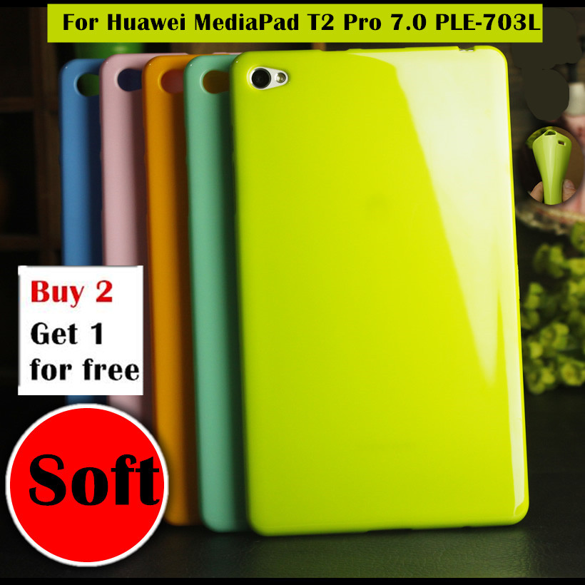 Colorful Pudding Case For Huawei MediaPad M2 lite PLE-703L 7.0
