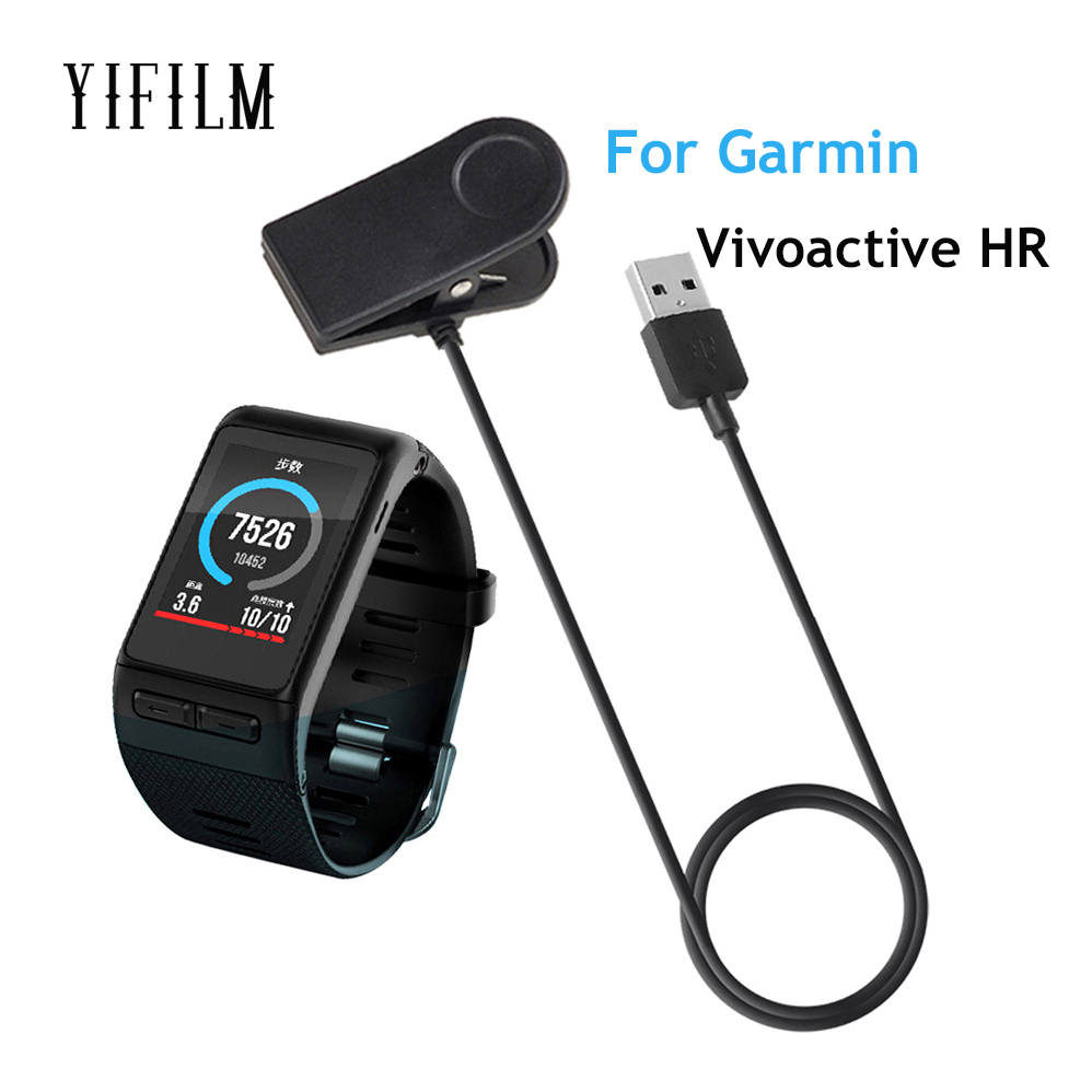 For Garmin Vivoactive Hr Smart Watch 1m Length Usb Data Charging Dock Cradle Smart Wristband Watch Charger Cradle For Garmin Accessories & Parts