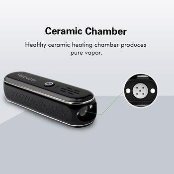 AIRISTECH Herbva 5G Droge Kruid Vaporizer Draagbare Vape Pen Kit Temperatuurregeling Keramische Kamer Elektronische Sigaret Kit