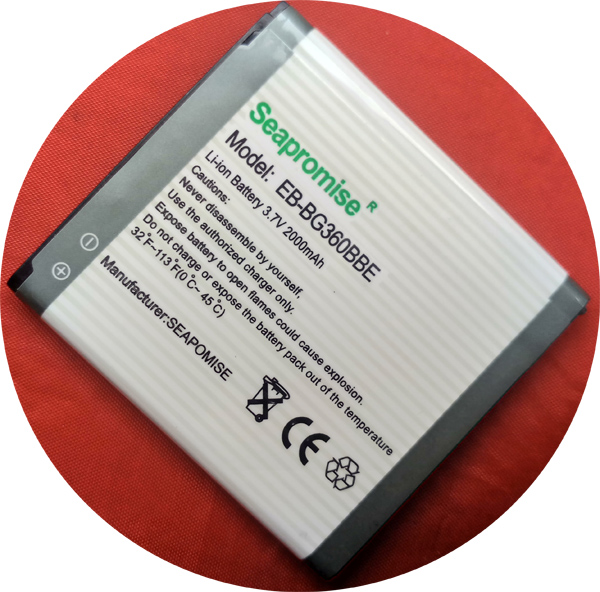 Envío gratuito batería EB-BG360BBE (EB-BG360CBC) para Samsung Galaxy Core primer G360 G360H DUOS G361 G3608 G3606 G3609 Galaxy J2 G360BT