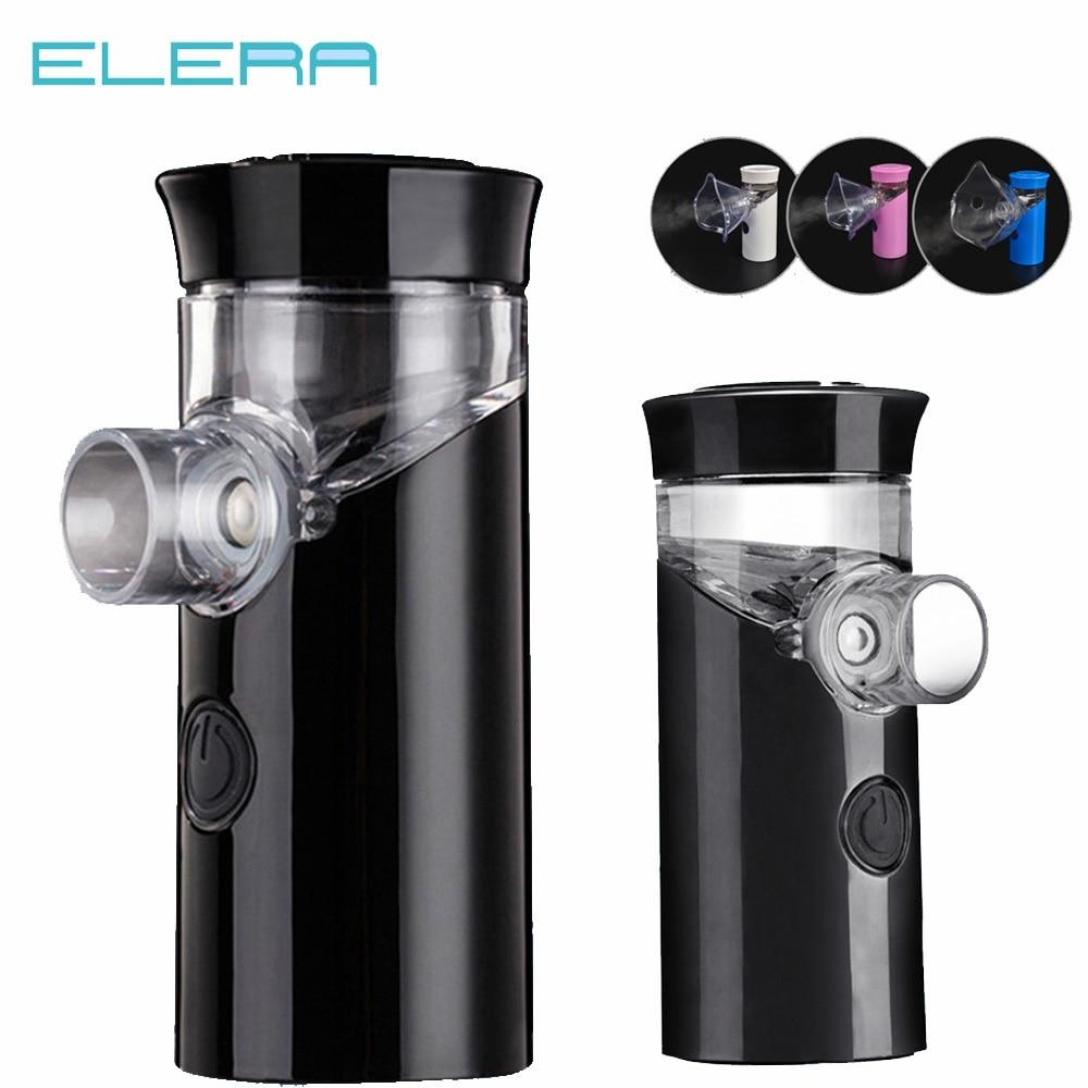 ELERA Portable Ultrasonic Nebulizer Handheld Asthma Inhaler Silent Inalador Nebulizador Rechargeable Atomizer Medical Equipment
