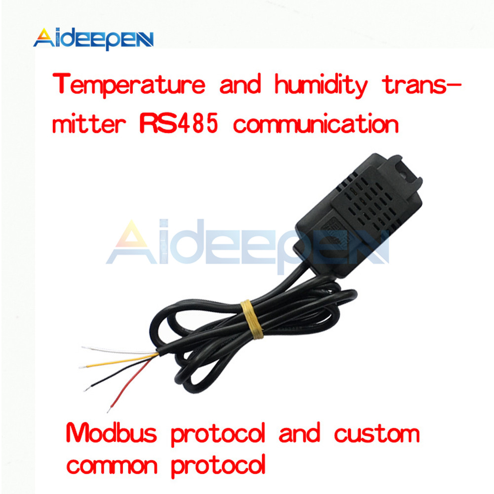 SHT20 Temperature Humidity Sensor Industrial Grade High Precision Temperature Humidity Transmitter Monitoring Sensor Modbus RS48 sht10 sht11 sht15 sht20 sht21 sht25 optional soil temperature and humidity sensor probe humiditytemperature sensor 1 meter