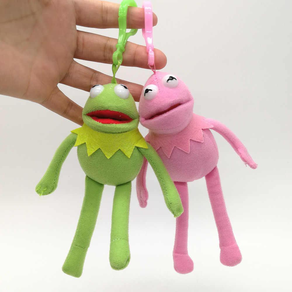 Sesam Straße Kermit Der Frosch 14CM Weiche Beste Geschenke Für Kinder Plüsch Clip Puppe Stofftiere PCXB