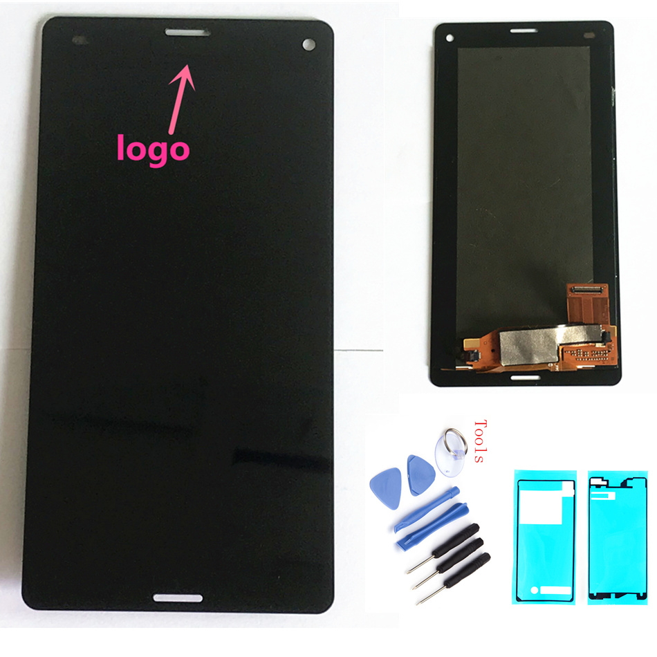 ORIGINAL LCD For SONY Xperia Z3 Compact Display Touch Screen with Frame Z3 Mini D5803 D5833 For SONY Xperia Z3 Compact DisplayORIGINAL LCD For SONY Xperia Z3 Compact Display Touch Screen with Frame Z3 Mini D5803 D5833 For SONY Xperia Z3 Compact Display