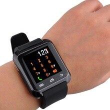 Bluetooth Smartwatch Anti-verlorene U80 Uhr Männer Frauen Kinder Armbanduhr für Samsung S4/Note 2/Anmerkung 3 Android Telefon iPhone 6/5/5 S/4 S