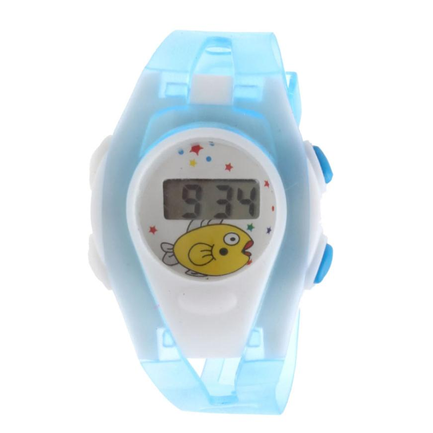 MALLOOM children watches for boys and girls watches digital waterproof Sport LCD Watches kids silicone hot sale montre enfant #Y perfect gift cute boys girls children students waterproof digital wrist sport watch blue levert dropship nov28