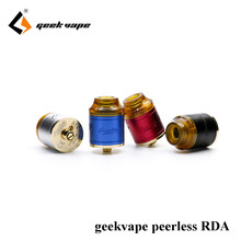Finest RDA of 2017 100% initial Geekvape Peerless RDA 24 mm much better than desire mad pet dog RDA