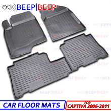 Mats-Carpets Auto-Floor-Mats Chevrolet Captiva Dustproof for Car-Styling Interior-Decoration