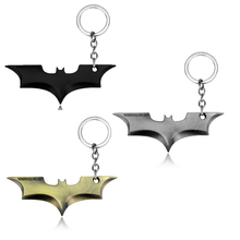 Dc comics Superhero Batman Keychain Accessories Men Trinket Super Hero Car Key Chain Chaveiro Key Ring Chain Jewelry Gift