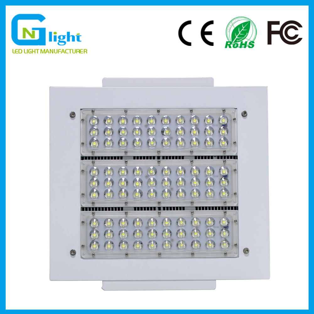 Residential Garage Led Lights: 100Watt Square LED Canopy Light Waterproof IP65 Commercial