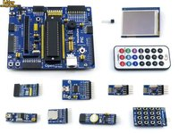 PIC Board PIC18F4520 I/P PIC18F4520 8 bit RISC PIC Development Board +11 Accessory Kits =Waveshare Open18F4520 Package A