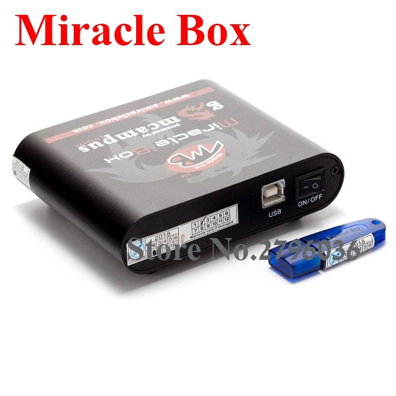 Boîtier Miracle avec clé Miracle Dongle (4 adaptateurs) + UMF tous les câbles de démarrage pour les téléphones mobiles de chine déverrouiller la réparation déverrouiller - 5