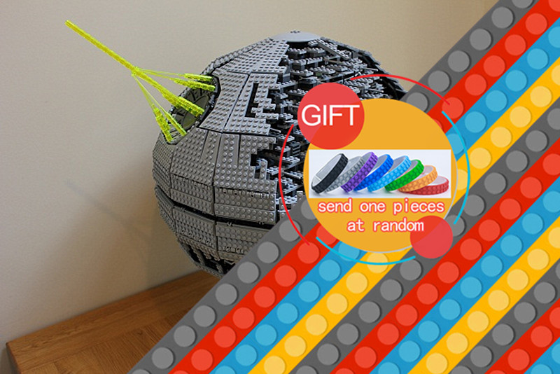 05026 3449pcs Star Classic Series wars Death Star The second generation war Building Blocks Compatible with 10143 Toys lepin rollercoasters the war of the worlds