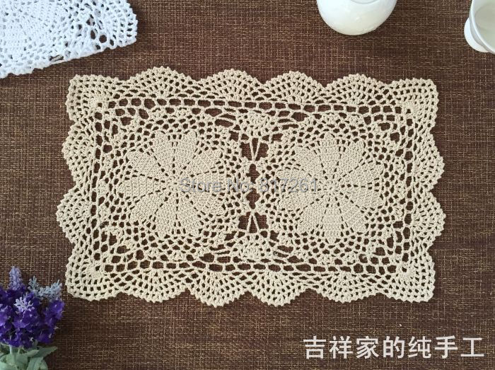 Zakka Cotton Crochet Lace Doilies For Dinner Table Decoration Napkin Table Pad Coaster Place Mat