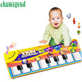 Novo Teclado Musical Música Toque em Reproduzir Cantando Ginásio Carpet Mat Melhor Crianças Baby Gift Levert Dropship A81