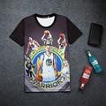Jogo PS3 2K16 Стивен Карри 3D Печати Футболка Хлопок Мужская Лето Tee игрока Рубашки Подросток Свободные Homme Любителей Топы Мальчик