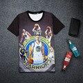 Jogo PS3 2K16 Stephen Curry 3D Imprimir T-shirt de Algodão Unisex Verão Tee jogador Camisas Adolescente Solto Homme Fãs Encabeça Menino