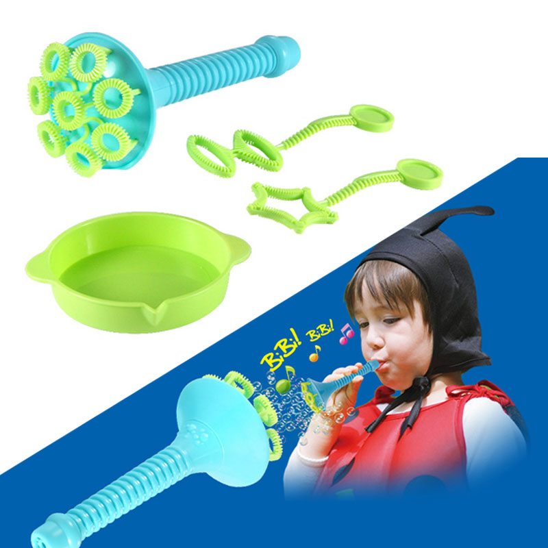 Summer Children Toys Blower Bubble Machine Show Outdoor Bubble Water Blowing Toy Kids Gifts YH-17