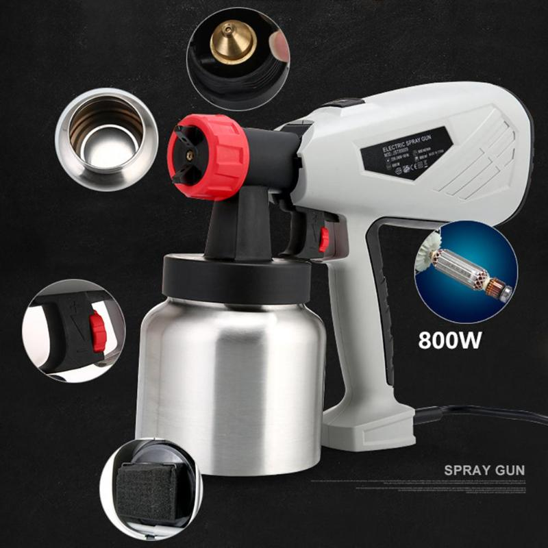 Detachable High Voltage Electric Spray Gun Cake Chocolate Paint Sprayer with Adjustable Flow Control Power Tools