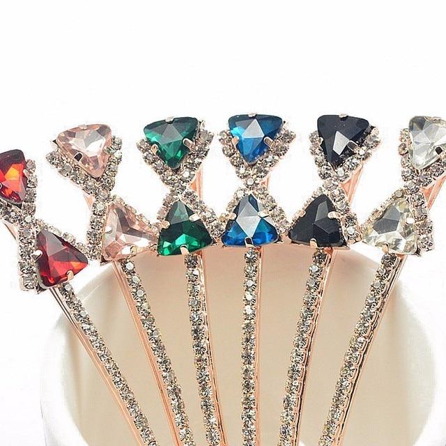 1pc Elegant Hair Clips Girl Bow Crystal Clips Hair Pins Barrettes  Rhinestone Hair Clip For Women Girls Hair Accessories Jewelry 4b665bd3007d