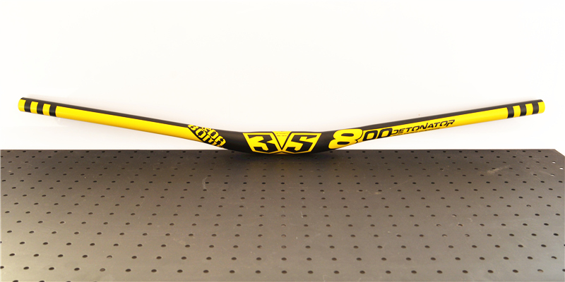DA BOMB DETONATOR 35 Alloy Double Butted 35 x 800mm Yellow